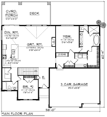 ranch style house plan 2 beds 2 baths 1904 sq ft plan 70 1270