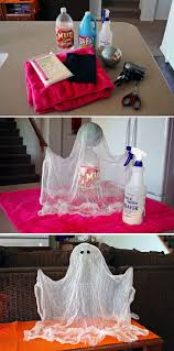 halloween homemade halloween decorations floating ghost scary