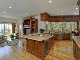 amazing ranch floor plans open kitchen on basement design ideas