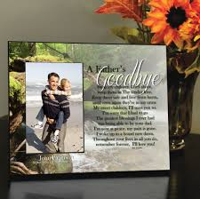 remembrance picture frame a s goodbye memorial frame personalized frame to remember