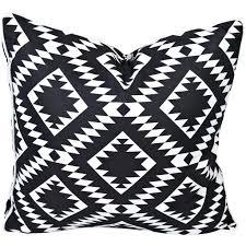 greek key reverse black u0026 white stripe outdoor cushion u2013 razzino