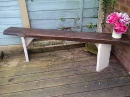 Rustic Outdoor Bench by 3 Rustic Garden Bench Aprox 6ft Very Heavy Reclaimed Wood