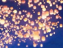 tangled sky lantern inspiration paper lanterns floating