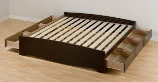 Walmart Bed Frame With Storage Storage Bed Walmart Bed With Storage Drawers Walmart