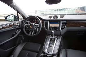porsche cayenne 2016 interior 2015 porsche macan s macan turbo first test motor trend