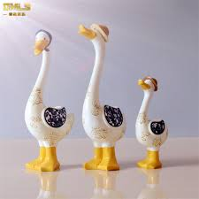 aliexpress buy dmls family duck figurines kid resin baby