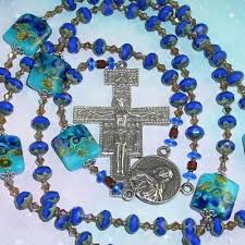 franciscan crown rosary crown rosary