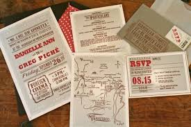 vintage wedding invites danielle greg s vintage cinema inspired wedding invitations