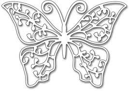 butterfly trio black die 51 306 123stitch