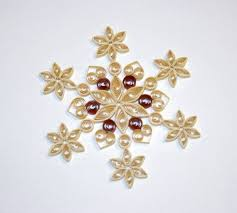 150 best quilled snowflakes images on quilling