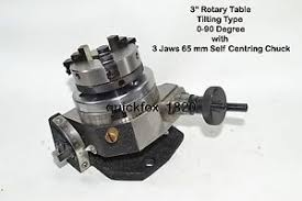 rotary table for milling machine heavy duty rotary table 3 with 65mm lathe chuck for milling