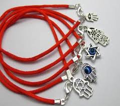 lucky charm red bracelet images 100pcs mixed kabbalah hand charms red string good luck bracelets jpg