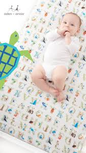 most breathable sheets soft as a mother s touch our classic animal and alphabet crib sheet