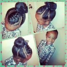 black girl bolla hair style cute kids bun hair pinterest hair style kid hairstyles and