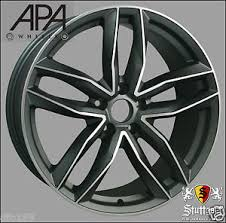 audi rs6 wheels 19 19 audi rs6 style alloy wheels fit a3 a4 a6 s3 s4 s6 rs3 rs4 rs6