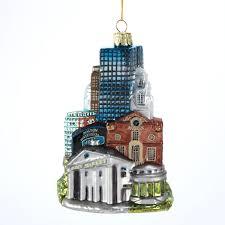 c4127 noble gems glass boston ornament cityscapes