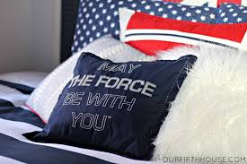 Star Wars Bedrooms by My Star Wars Loving Boy U0027s Bedroom Our Fifth House