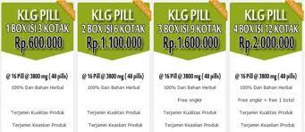 jual obat klg pills asli ciri harga efek sing cara pemakaian klg