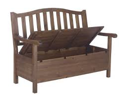 Garden Storage Bench Build by Outdoor Wood Storage Bench Treenovation