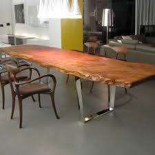 rustic solid wood dining table living room slab wood dining table contemporary tables rustic