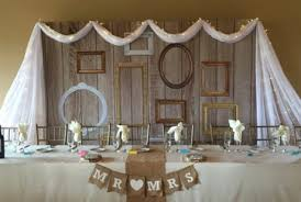 wedding backdrop vintage vintage frames backdrop table best wedding backdrops