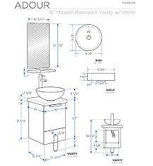 Kitchen Cabinet Detail Single Sink Bathroom Vanity Bathroom Vanities Ardi Bathrooms