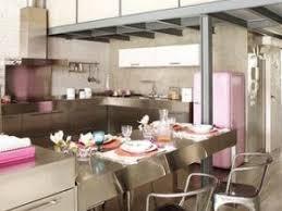 cuisine smeg une cuisine façon métal par minutedeco