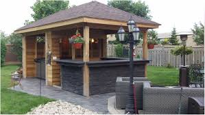 Backyards Appealing Outdoor Backyard Bars Designs Simple - Tiki backyard designs