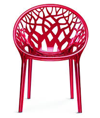 Polycarbonate Chairs Nilkamal Vap Chair Crystal Pc Red Wine Polycarbonate
