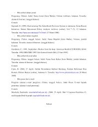 panduan penulisan daftar pustaka dari jurnal cara menulis kutipan dan daftar pustaka karya tulis ilmiah