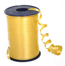 curling ribbon golden yellow curling ribbon ribbon and trims craft supplies