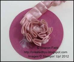 satin ribbon flowers created by you tutorial pleated satin ribbon flower
