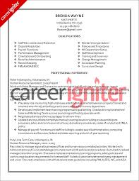 Hr Resume Sample by Human Resources Training Resume Sample Resumecompanion Com Hr