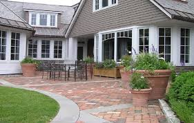Patio Pavers Design Ideas Brick Patio Paver Designs With Concrete Border Diy Paver Patio