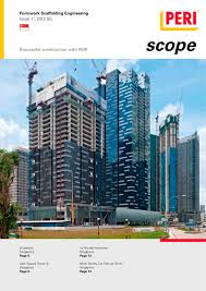 formwork scaffolding engineering issue 1 2012 sg peri s a s