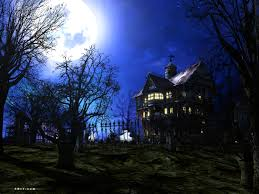 halloween 3d screensaver dark forest mansion screensaver