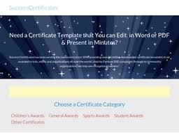 zeroinglodz recognition awards templates free