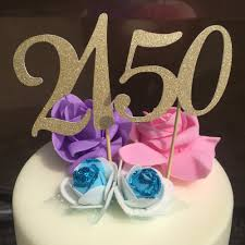 50th birthday cake topper gold promotion shop for promotional 50th