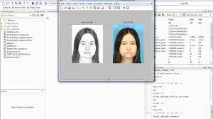 matching forensic sketches to mug shot photos youtube