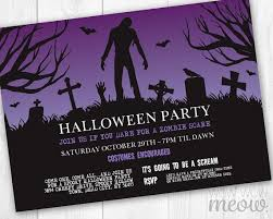 45 best halloween party invitations images on pinterest party