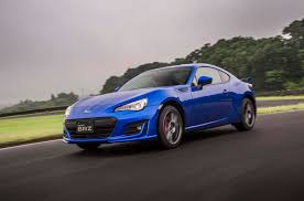 blue subaru 2017 first drive 2017 subaru brz automobile magazine