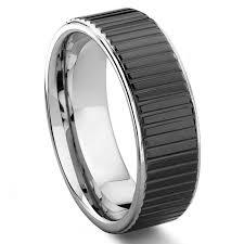 tungsten carbide wedding bands for mens tungsten rings wedding bands titanium