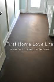 Laminate Flooring Over Concrete Concrete Floors Don U0027t Cry Over Spilt Paint First Home Love Life