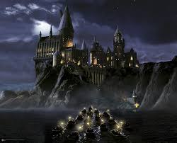 Hogwarts by First Time To Hogwarts Wall Mural Projects To Try Pinterest