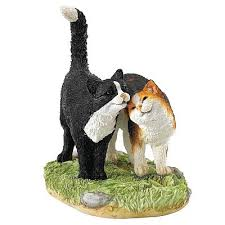 cat ornament black white calico cat cat ornaments