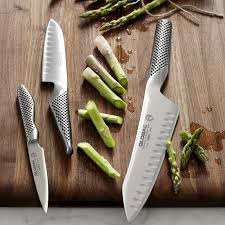 asian kitchen knives global classic 3 master chef knife set williams sonoma
