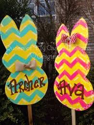 Easter Bunny Lawn Decorations by Easter Bunny Lawn Decoration Kit Hunt U0027s Eggs And So Cute