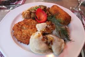 cuisine debutant menu du debutant pierogis placki krokiet bigos picture of