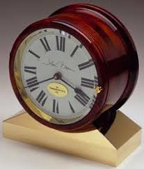 Personalized Clocks With Pictures The Hermle Bounty Wall Clock Is A Brass Ship U0027s Bell Clock With