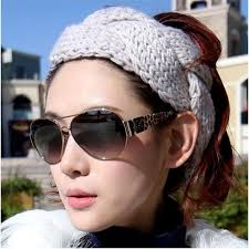 cool headbands fashion twisted spiral wool hair band knitted headband fashion